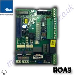 Nice Roa3 Control Panel