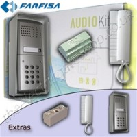 Farfisa Audio Intercom with Keypad