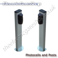 photocell mounting posts.
